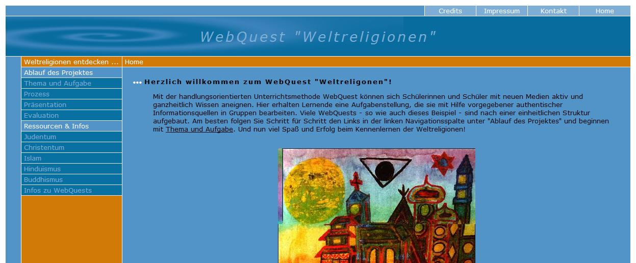 webquest-weltreligionen