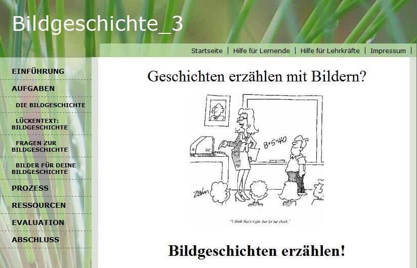 webquest-bildgeschichte_3-startseite