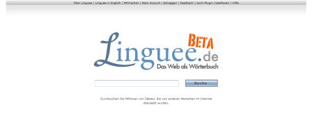 Linguee – Das Web als Wörterbuch – deutsch-englisch