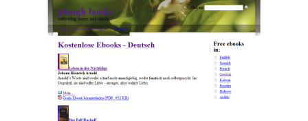 plough books » Kostenlose Ebooks - Deutsch