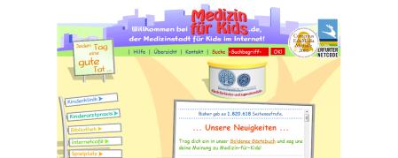 Medizinstadt für Kids im Internet-.