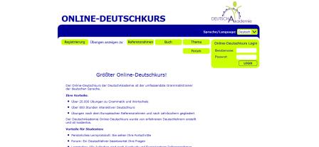 Online-Deutschkurs - Online Deutsch lernen