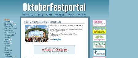Oktoberfestportal - Das Portal zum Mr Oktoberfest 2009... Alles zur Wiesn in München  Startseite mit aktuellen News