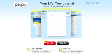 Penzu - Free Private Journal and Diary